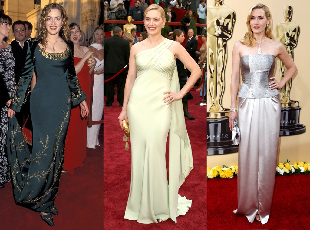 Kate Winslet, Oscars Over the Years