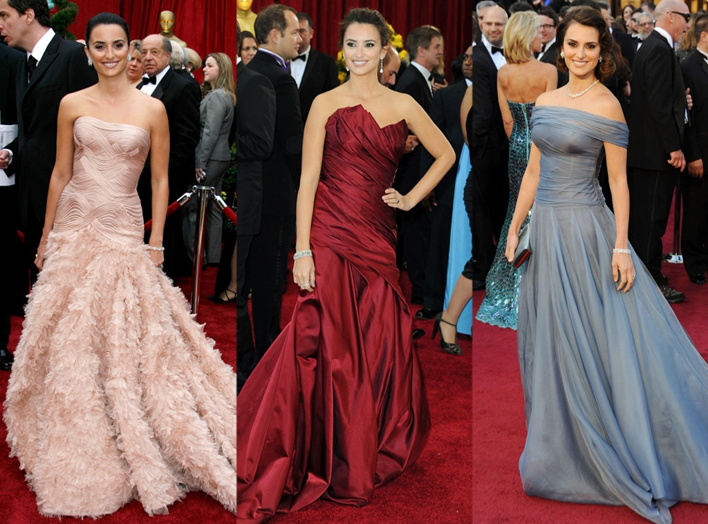 Penelope Cruz, Oscars Over the Years