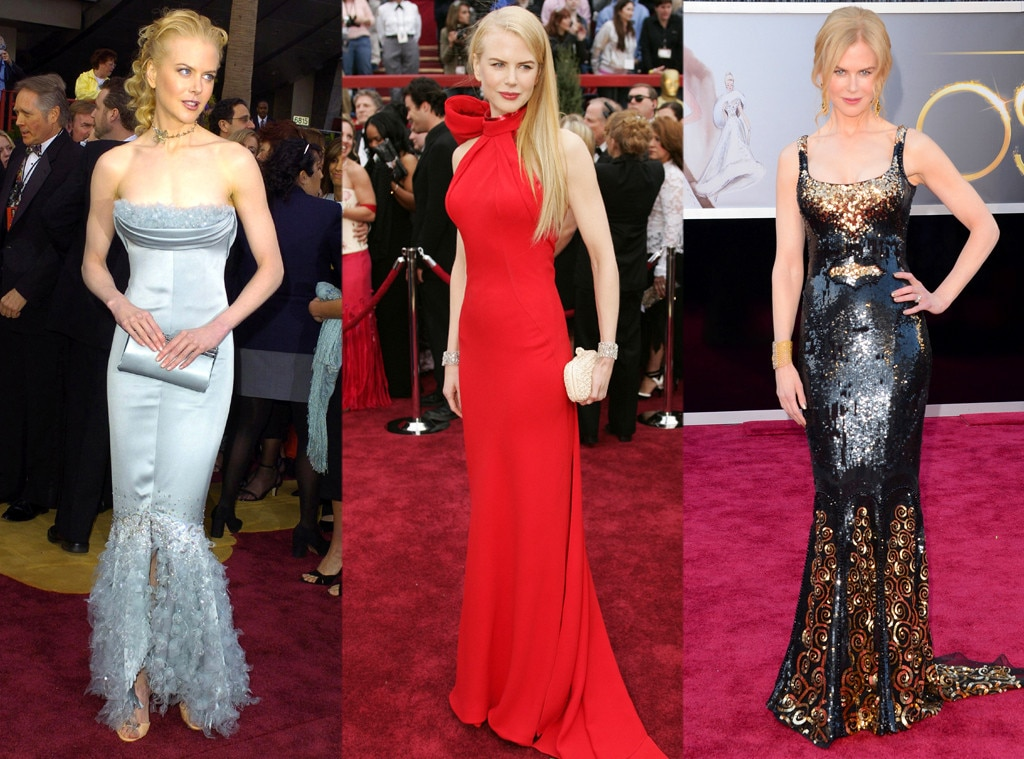 Nicole Kidman, Oscars Over the Years