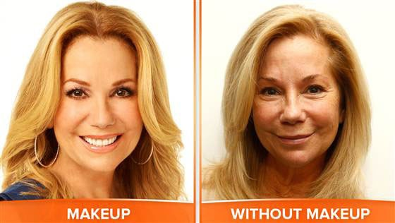 Kathie Lee, No Makeup