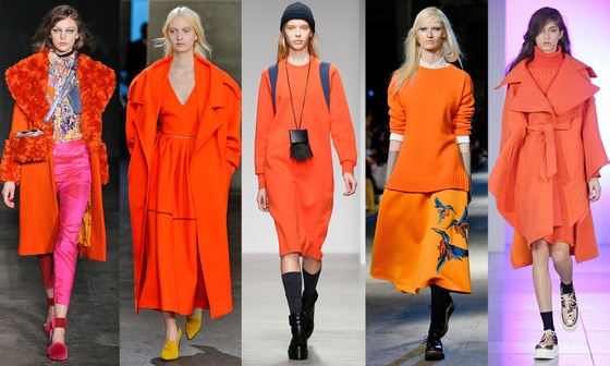 Zanna's LFW Trends, The Color: Orange is the New Black