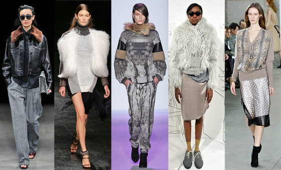 Zanna's NYFW Trends, The Texture: Mixed Media