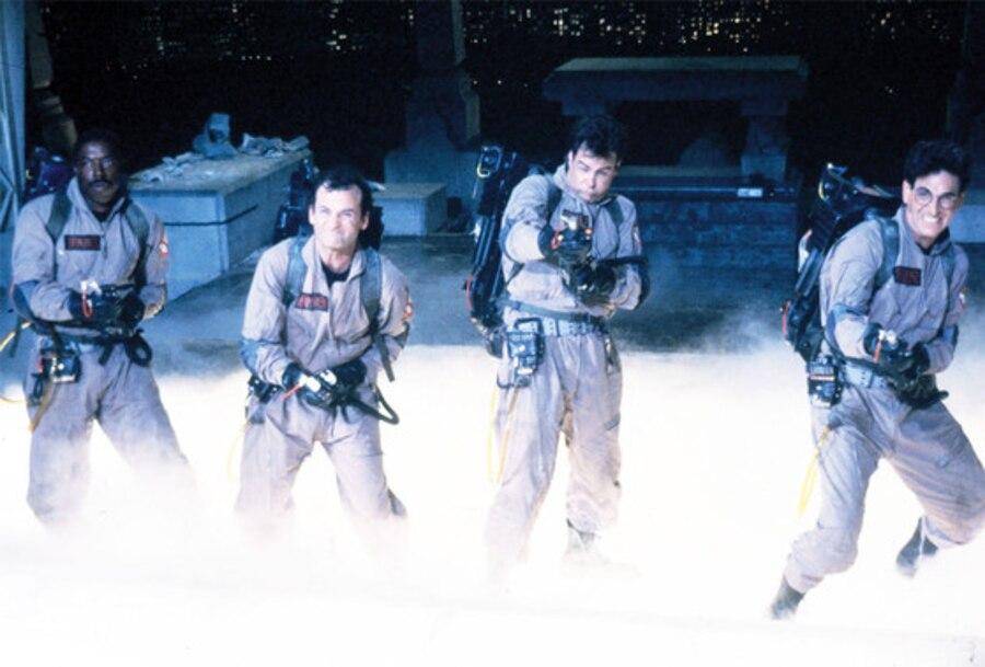Ernie Hudson, Bill Murray, Dan Akroyd, Harold Ramis, Ghostbusters