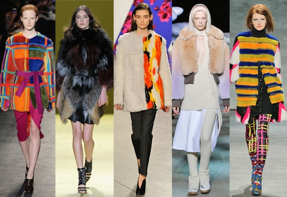 Zanna's NYFW Trends, The Fabric: Fantasical Furs