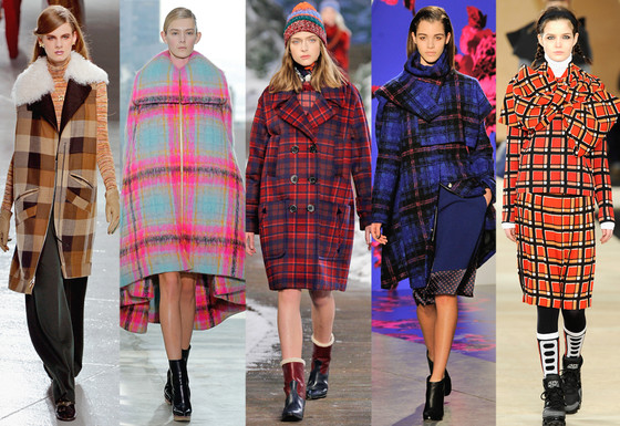 Zanna's NYFW Trends, The Print: Mad Plaid