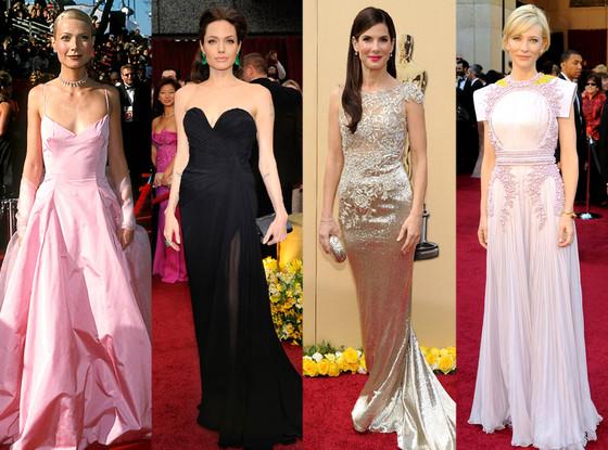 Oscar Gowns Through the Years: Sandra Bullock, Gwyneth ...
