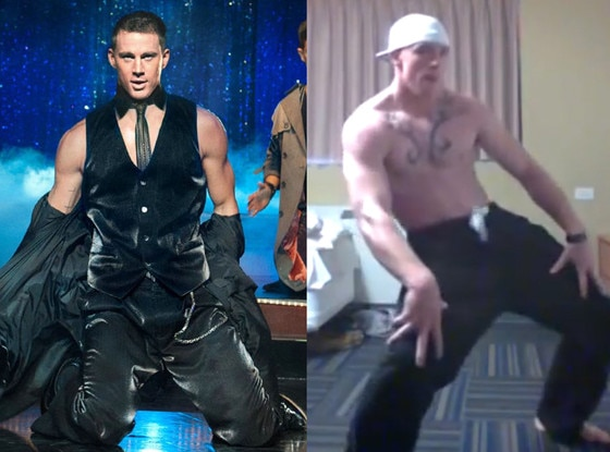 Magic Mike, Channing Tatum, Audition