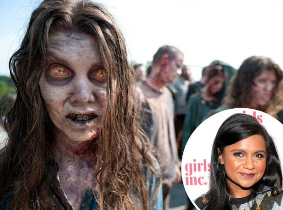 Mindy Kaling, The Walking Dead