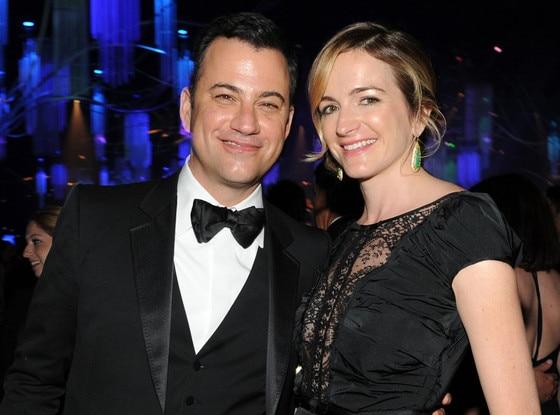 Jimmy Kimmel, Molly McNearney, Governor's Ball, Emmy Awards 2013