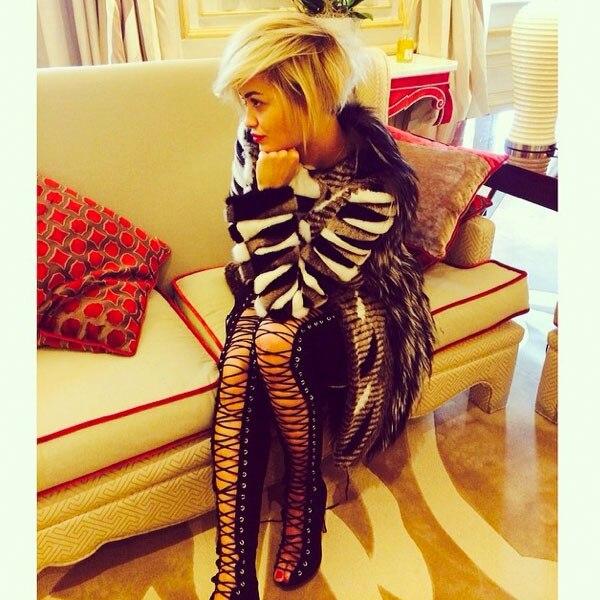 Rita Ora, Bob, Lob Instagram