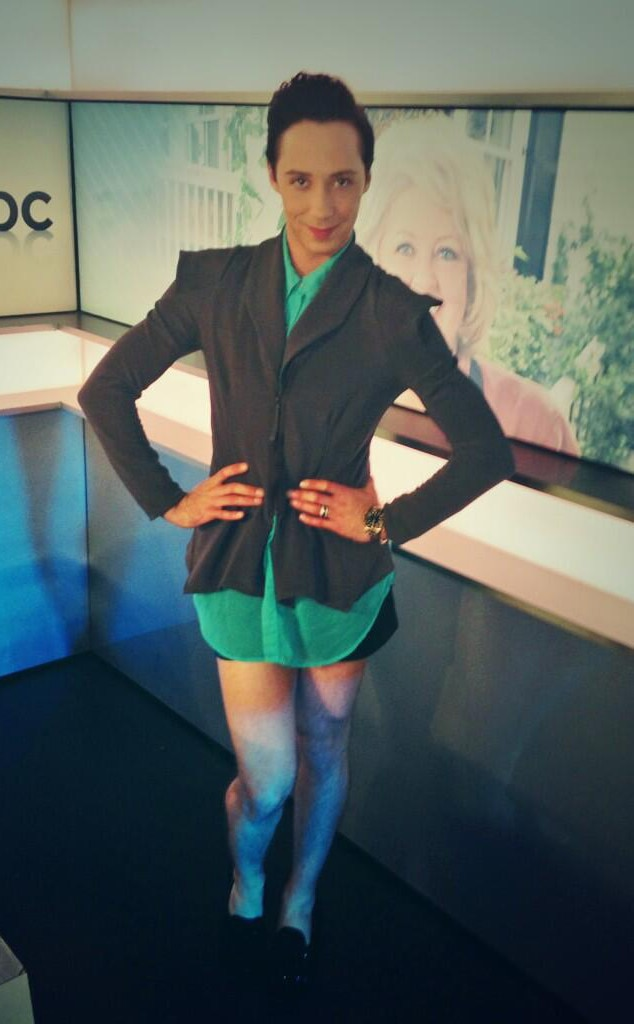 A Definitive Ranking Of Johnny Weir S Outfits During The