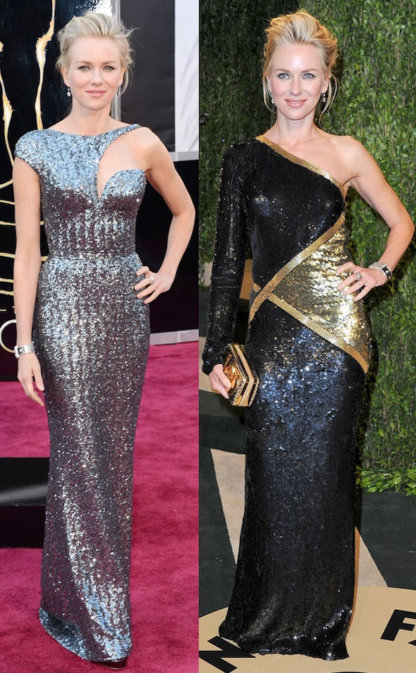 Naomi Watts from Oscars After-Party Dresses
