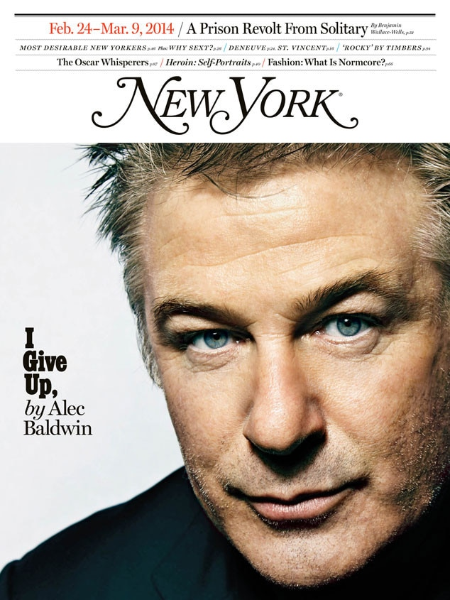 Alec Baldwin, New York Magazine