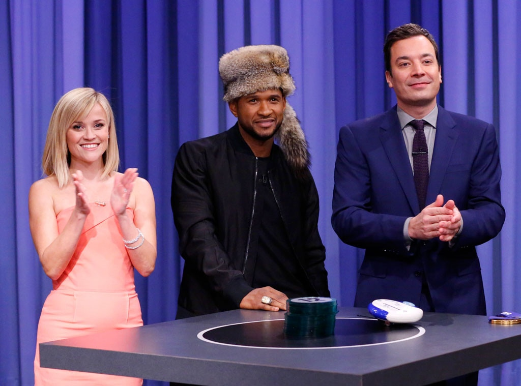 Usher, Reese Witherspoon, Jimmy Fallon