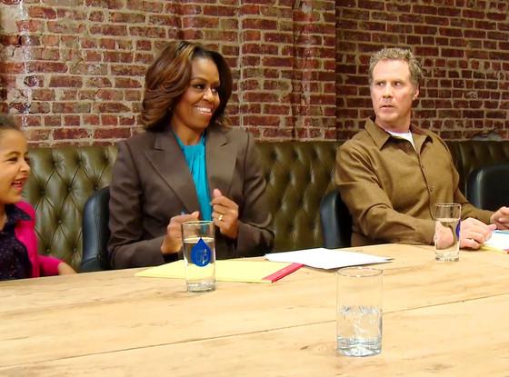 Michelle Obama, Will Ferrell