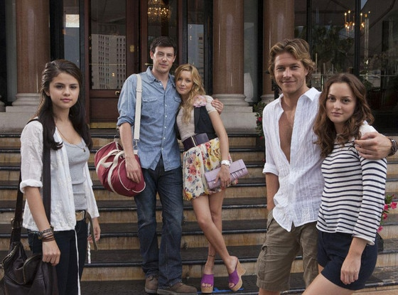 Monte Carlo, Selena Gomez, Corey Monteith, Katie Cassidy, Leighton Meester, Luke Bracey