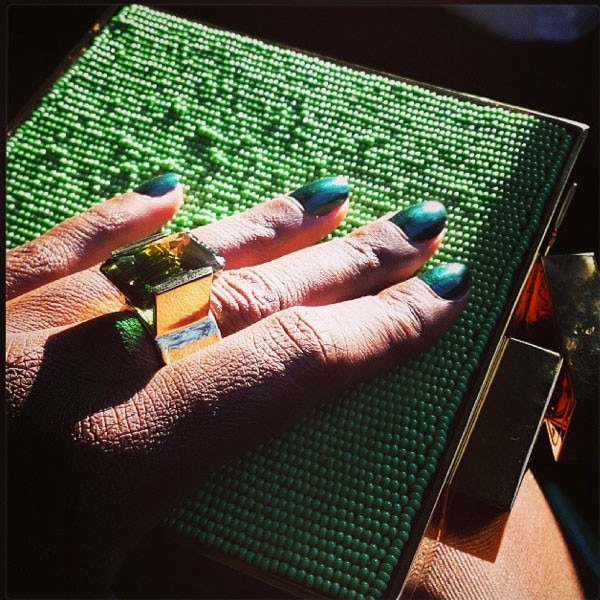 Lupita Nyong'o Manicure Instagram