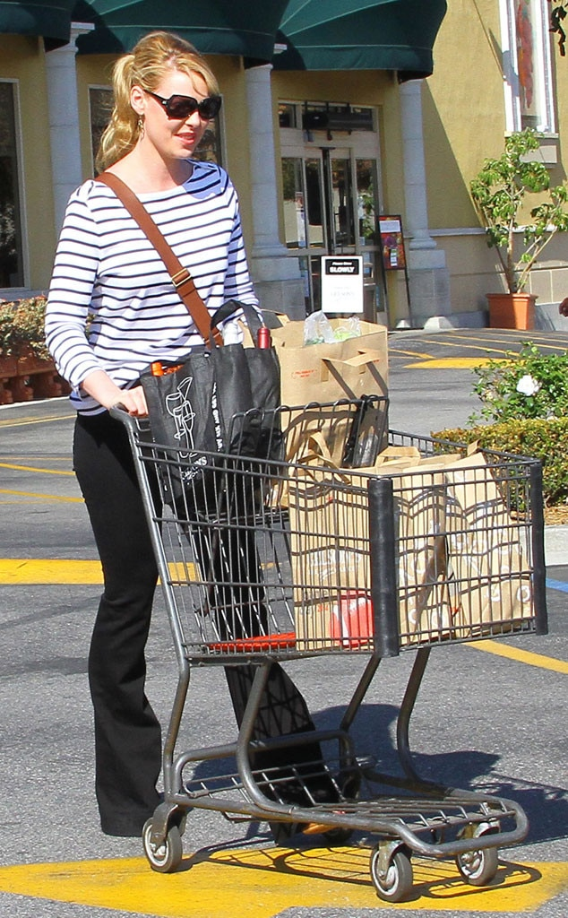 Katherine Heigl, Grocery Shopping