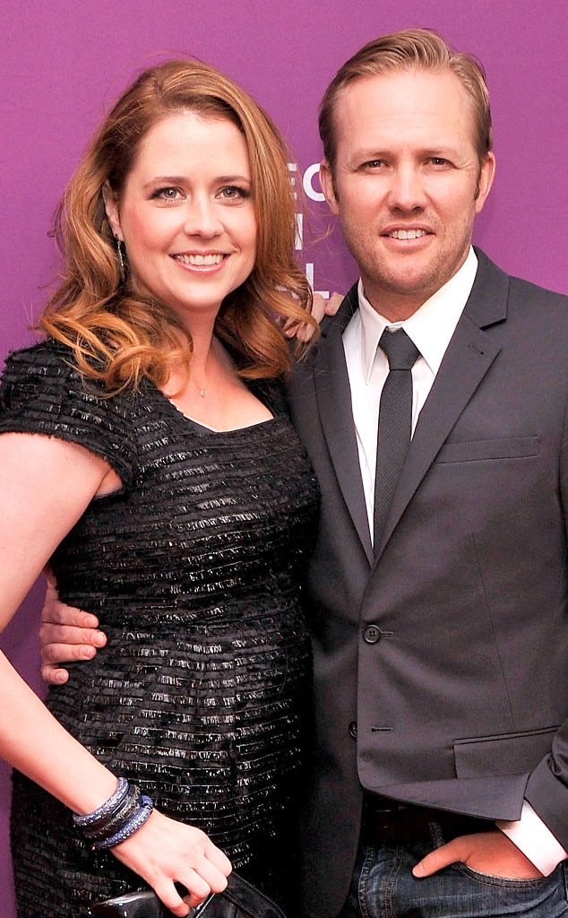 jenna fischer and husband welcome a baby girl�see her