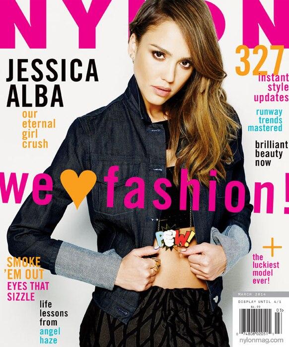 Jessica Alba, Nylon Magazine