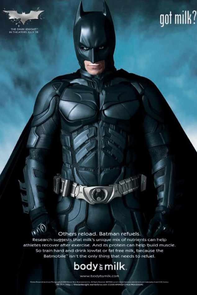 Batman, Got Milk? Ad