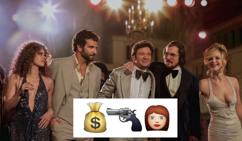 American Hustle, Emojis
