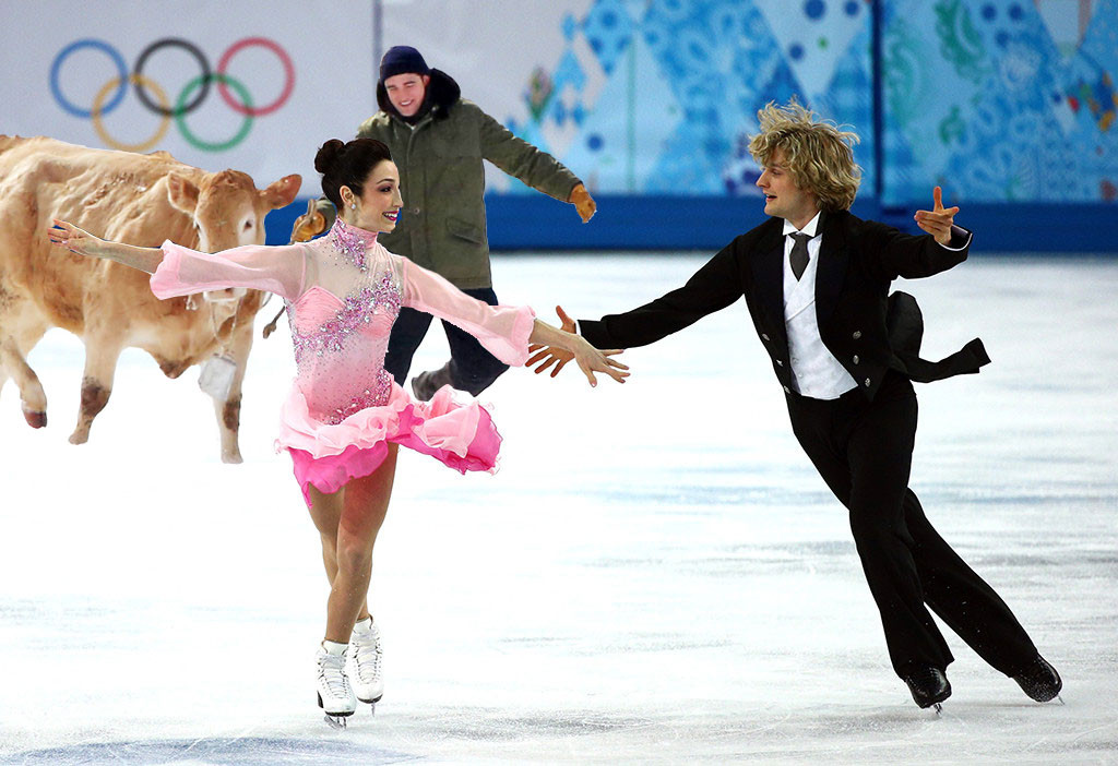 Meryl Davis With Boyfriend Charlie White Photos Collection: Charlie White Marries Fellow Olympic Ice Dancer Tanith