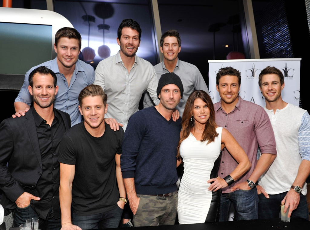 Lynne Curtin and Bachelorette Guys