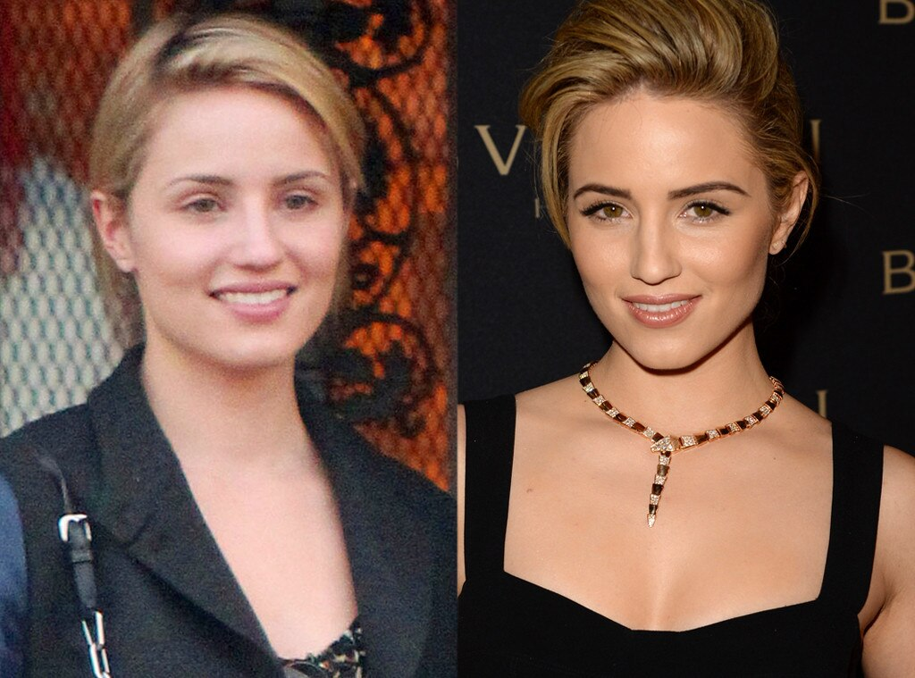 Dianna Agron, No Make-up