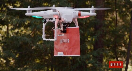 Netflix Drone