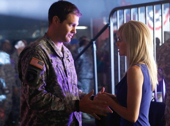 Enlisted, Geoff Stults, Mircea Monroe