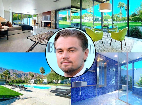 Leonardo DiCaprio, New Palm Springs Home