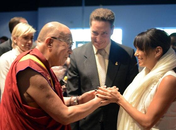 Dalai Lama, Eva Longoria, Sharon Stone