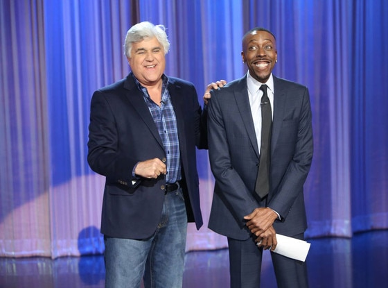 Jay Leno, Arsenio Hall