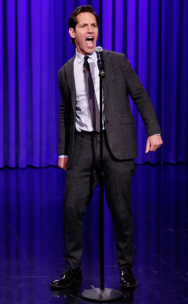 Paul Rudd, Tonight Show