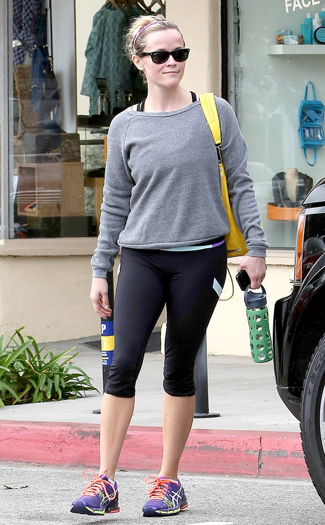 Reese Witherspoon, Workout