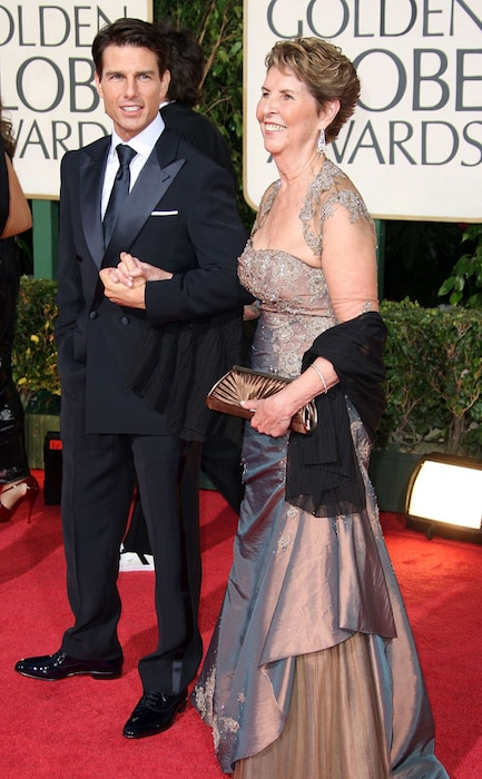 Tom Cruise, Mother, Mary Lee Mapother, Golden Globes 2009