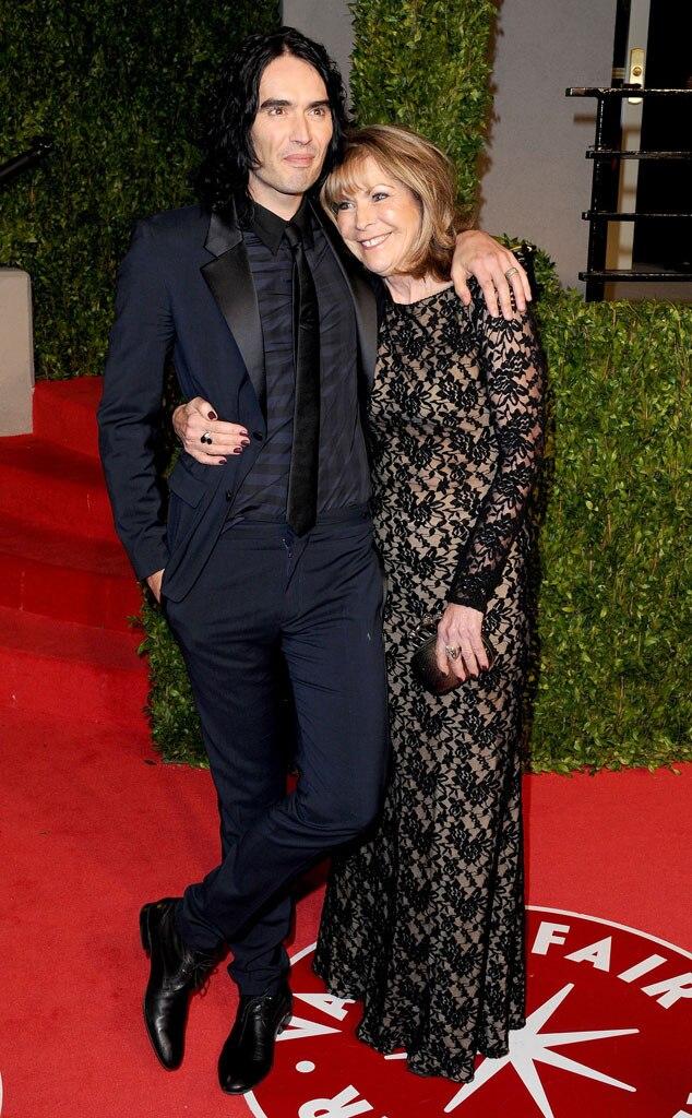 Russell Brand, Mother, Barbara Brand, Oscars 2011