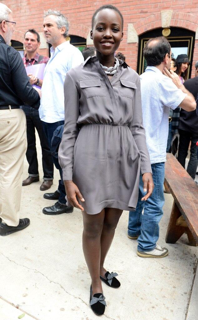 Lupita Nyong'o from Street Style: 2014 Oscar Nominees ...
