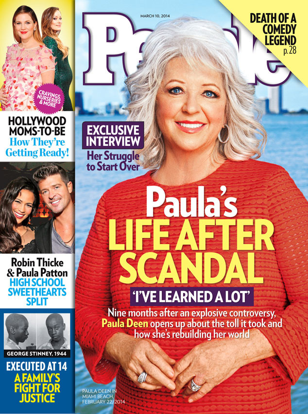 Paula Deen, People Magazine, March 10