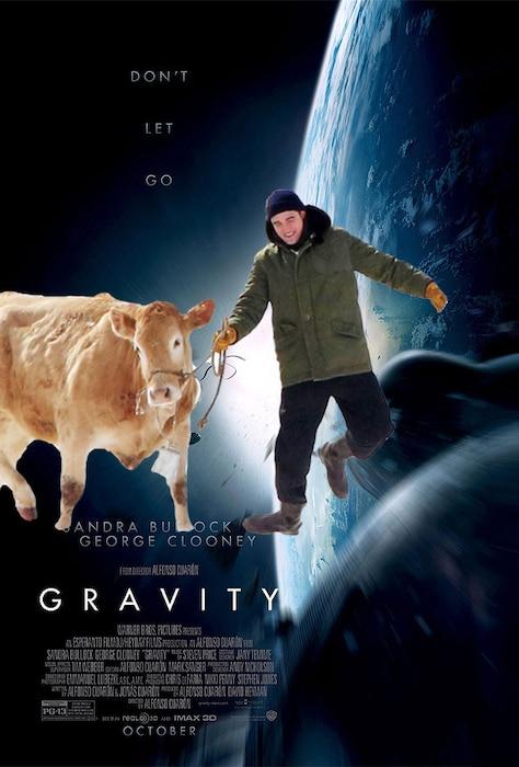 Gravity, Movie Poster, Robert Pattinson
