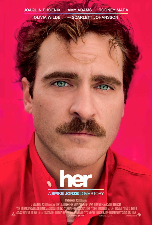 Her, Joaquin Phoenix, Movie Posters