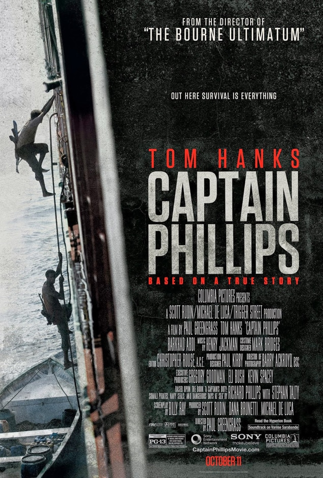 Captain Phillips, Movie Poster