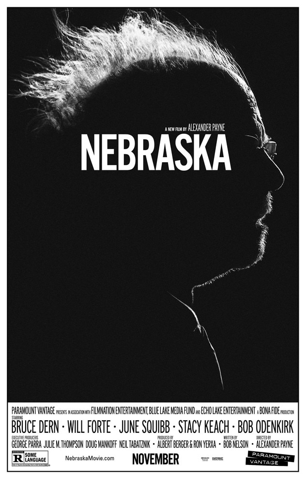 Nebraska, Bruce Dern, Movie Poster