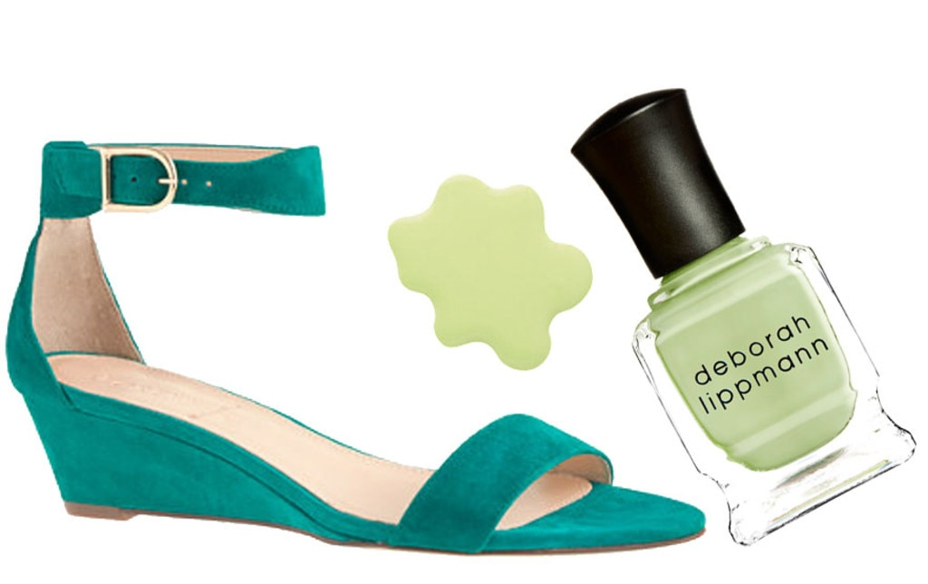 Spring Shoes & Polishes, J.Crew, Deborah Lippmann
