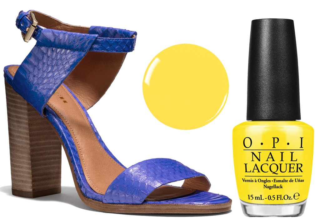 Spring Shoes & Polishes, Coach, OPI