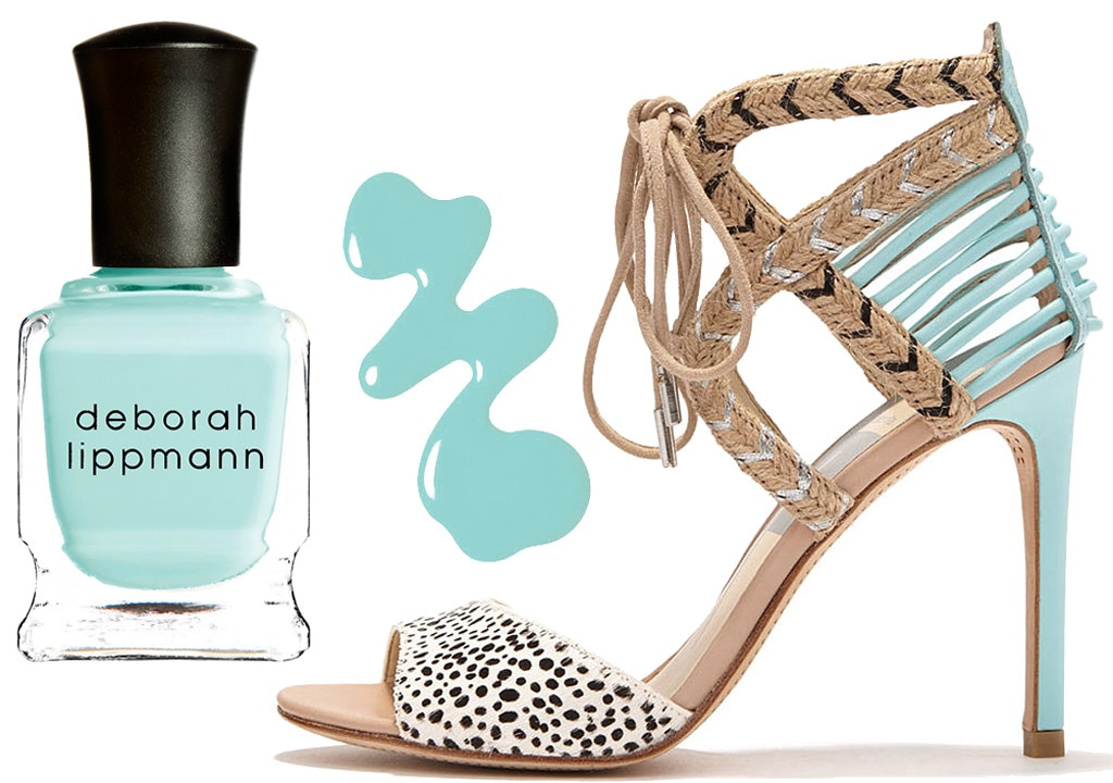 Spring Shoes & Polishes, Dolce Vita, Deborah Lippmann