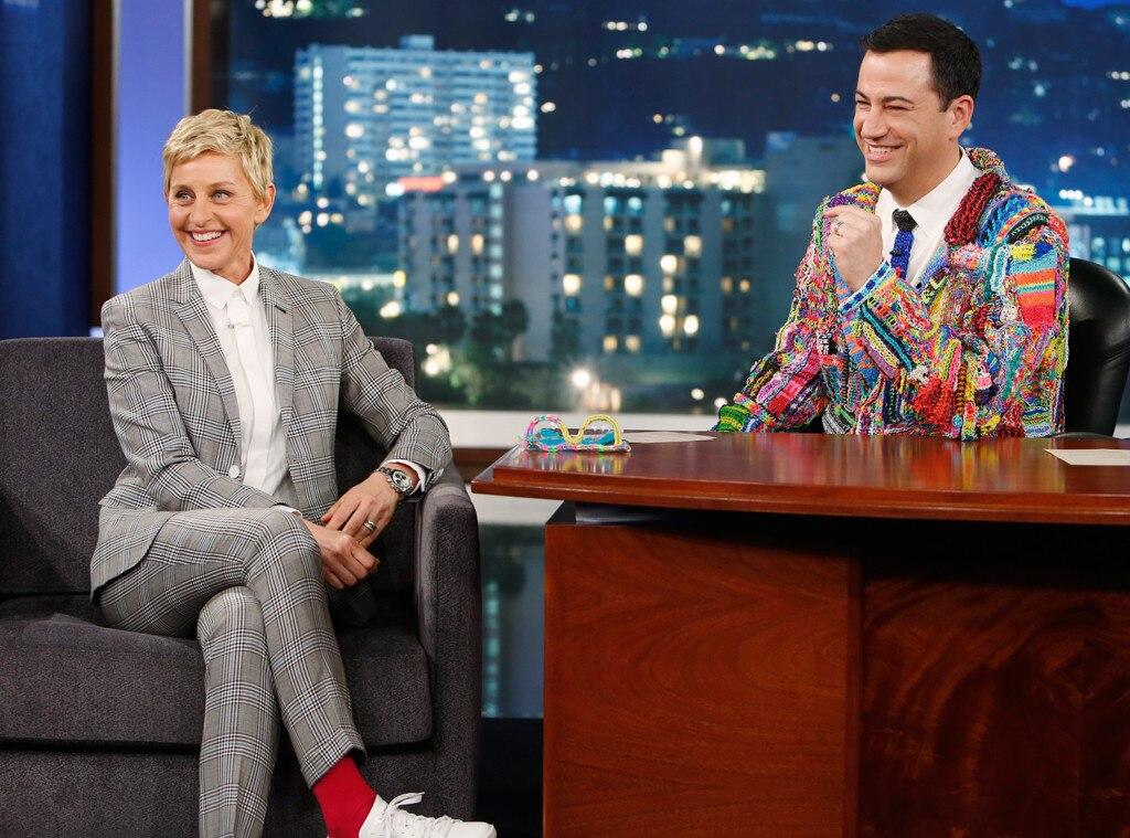 Jimmy Kimmel, Ellen DeGeneres