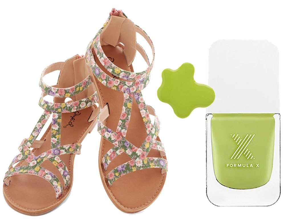 Spring Shoes & Polishes, Mod Cloth, Formula X