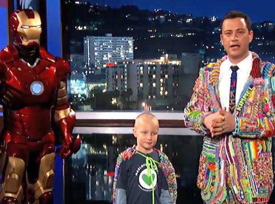 Jimmy Kimmel, Iron Man, Max